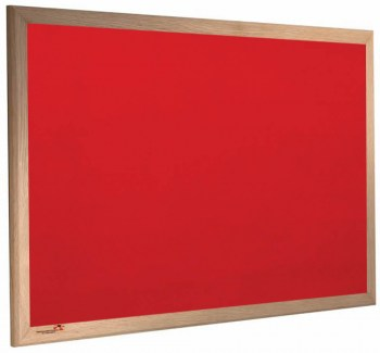 Wooden-Red-Noticeboard