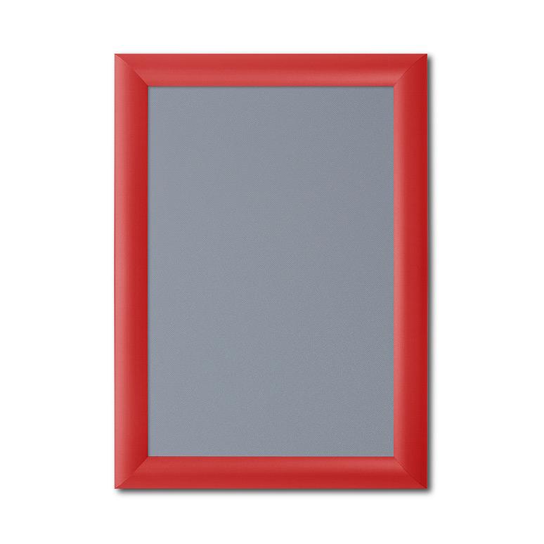 A4 Red Snap Frames 210 x 297 Mitred Corner Clip Frames Pk25