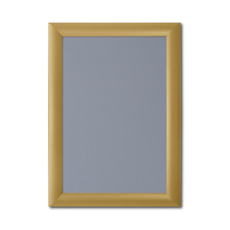 A3 Gold Snap Frames 297 x 420 Mitred Corner Clip Frames Pk25