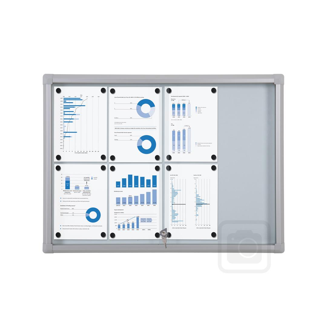 lockable sliding glass door magnetic whiteboard notice. Black Bedroom Furniture Sets. Home Design Ideas