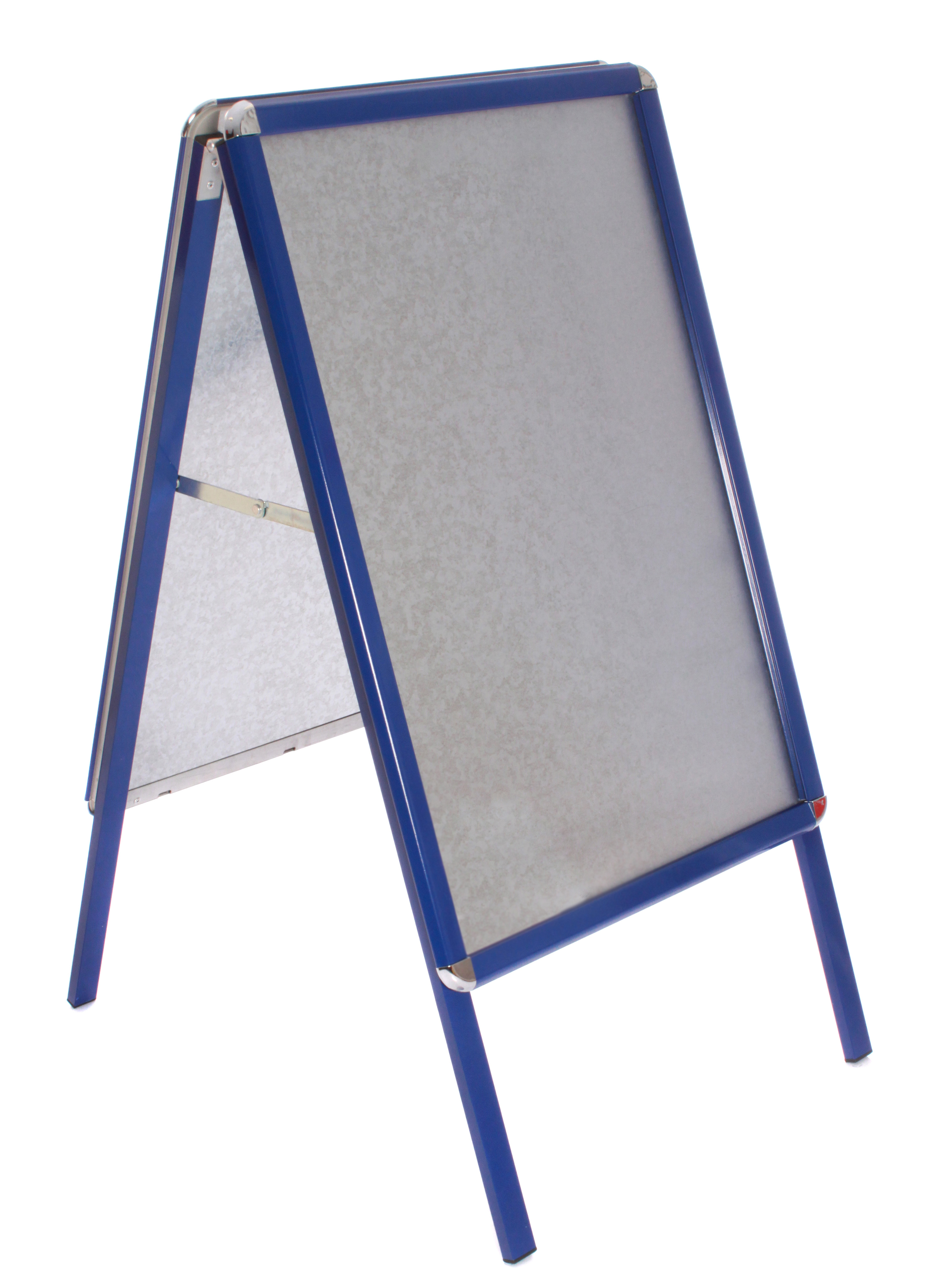 A Board Pavement Sign A1 Snap Frame A-Board Blue Frame