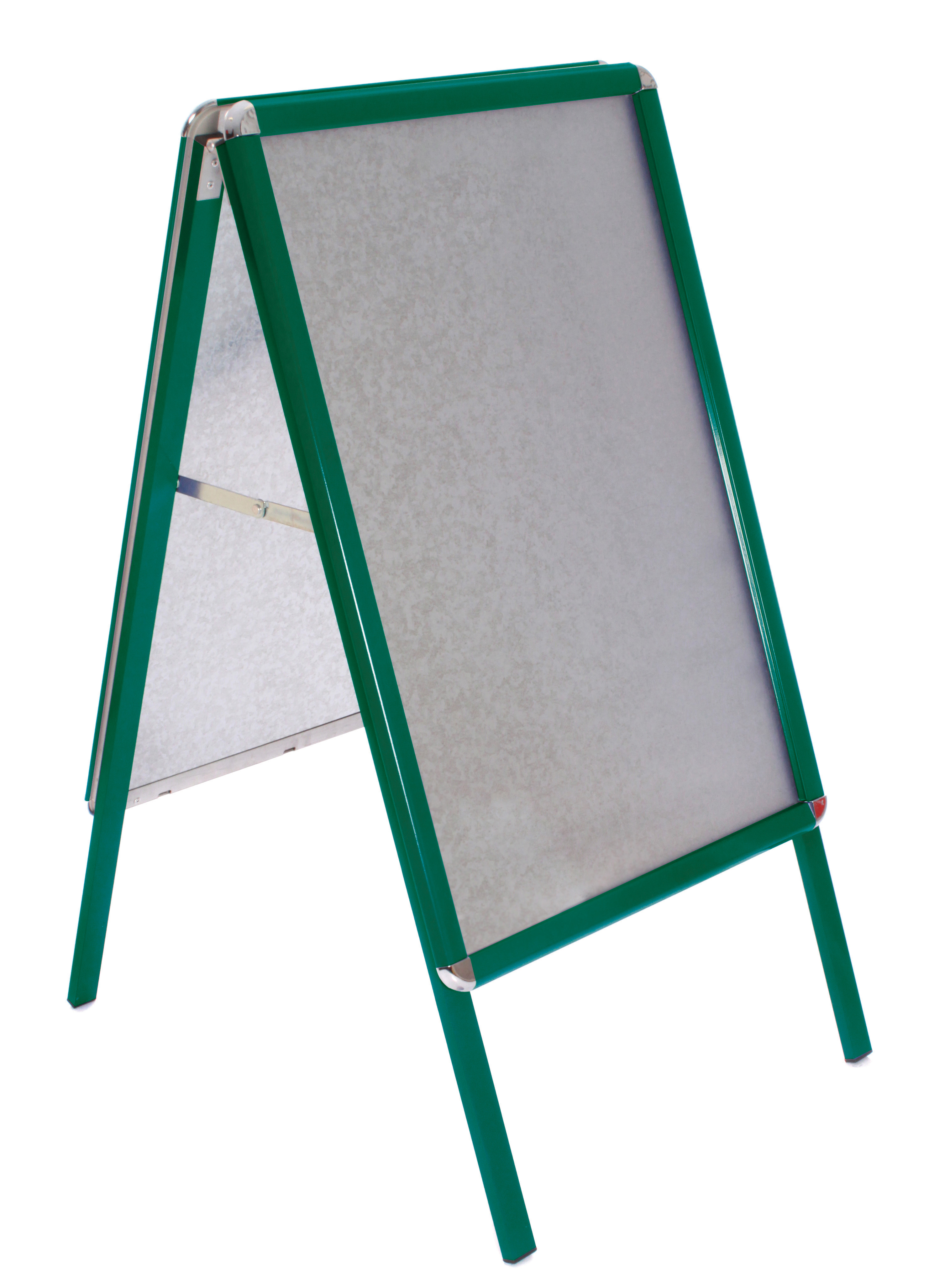 A Board Pavement Sign 30 X 40 Inch Snap Frame A Board Green Frame
