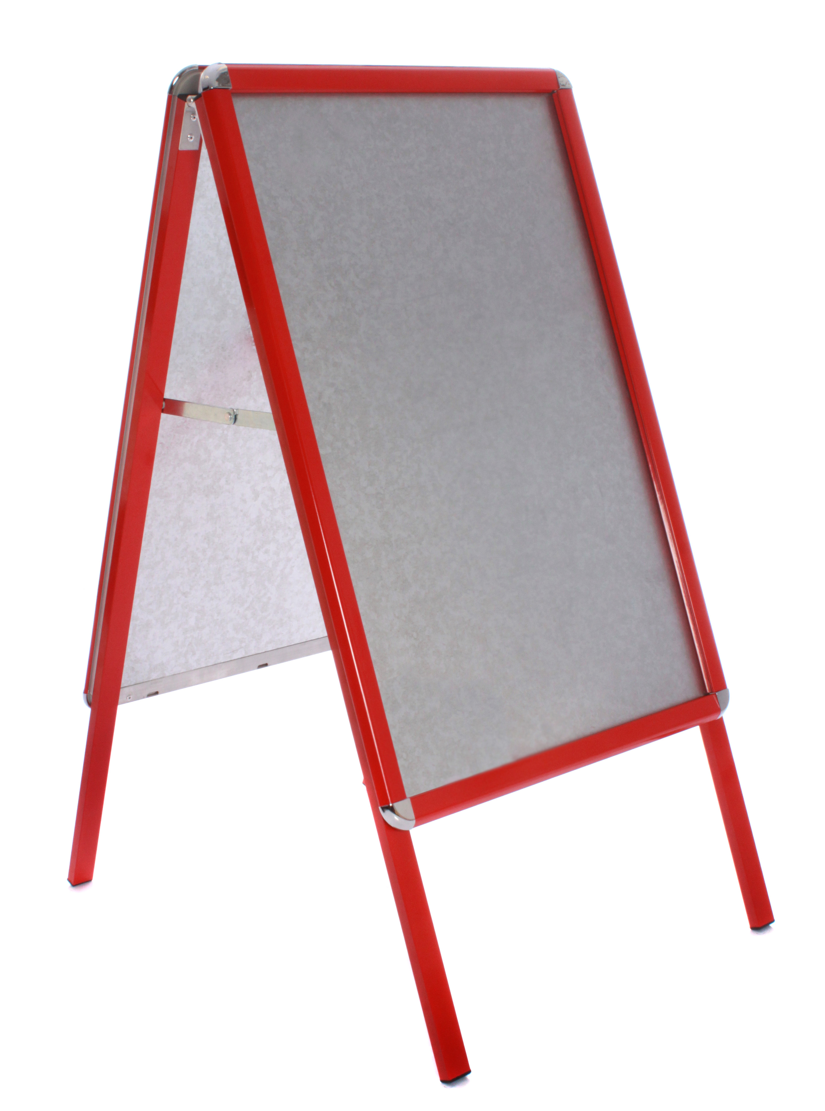 A Board Pavement Sign A1 Snap Frame A-Board Red Frame